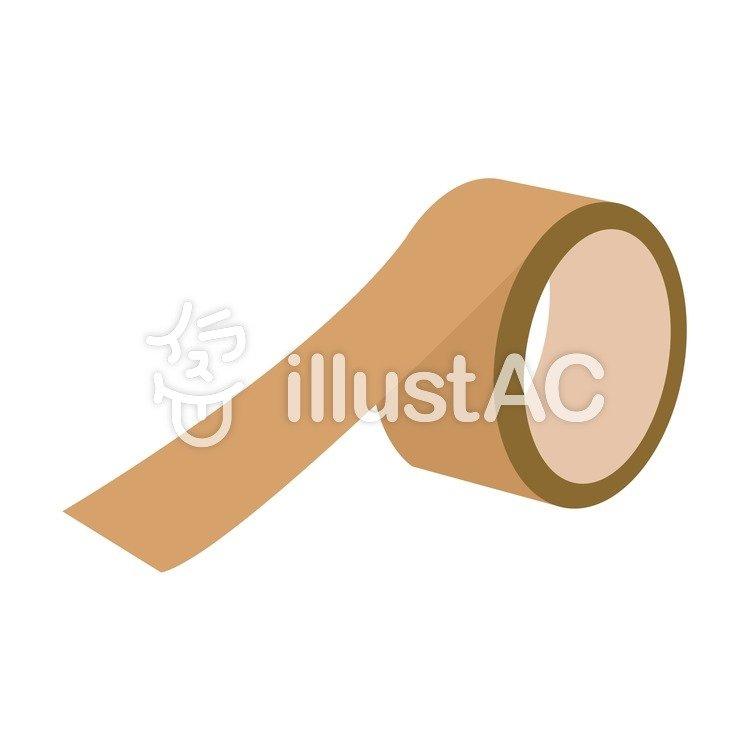 年賀状 ガムテープ