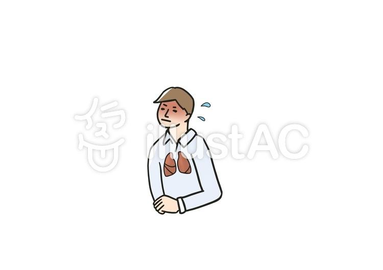 人类疾病性肺炎 | 免费的剪贴画 | illustac