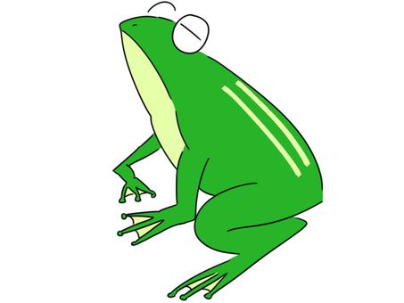 青蛙背景矢量图