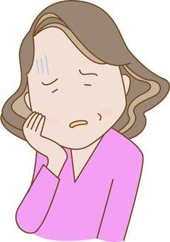 照片素材(图片): 男人 乳房 疼痛 扭曲 痛苦