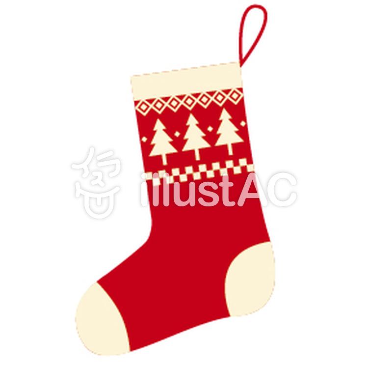 クリスマス 靴下 イラスト 手書き
