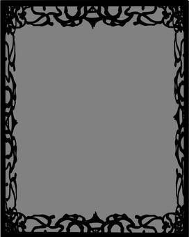 边框暗黑系素材