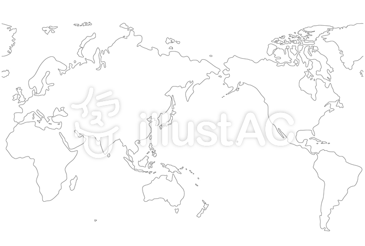 日本地図 白地図 フリー ai