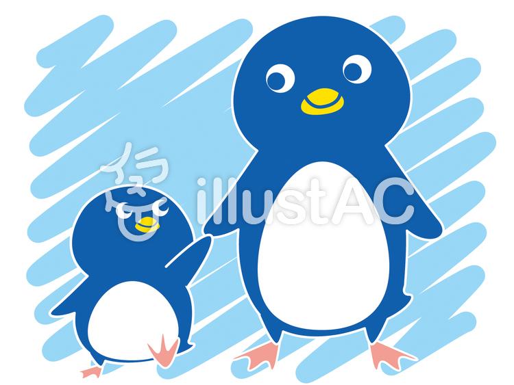 ゆるい ほのぼの ペンギン イラスト
