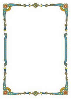 ppt 背景 背景图片 边框 模板 设计 相框 242_340 竖版 竖屏
