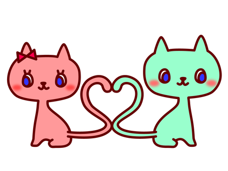 Cat Heart in Tail
