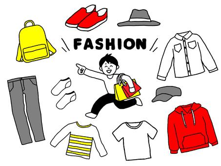 メンズファッションセット(シンプル)