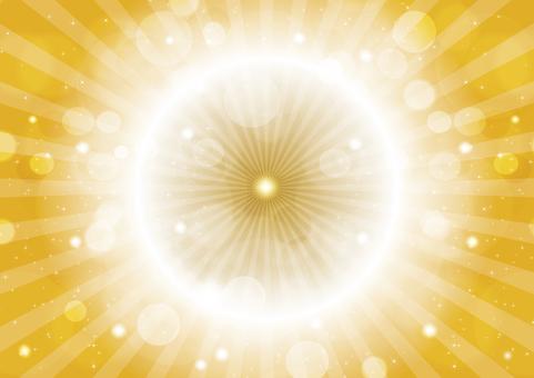 Gold sparkling 20