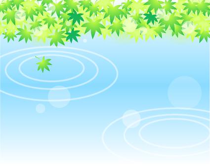 Summer waterside