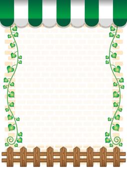 Cafe style frame