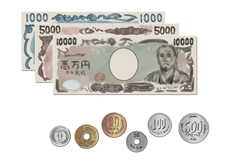 Banknote / Money illustration 001