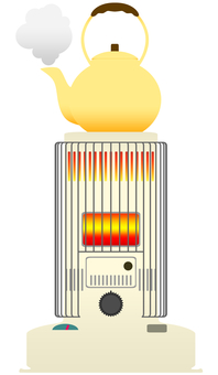 Convection type oil stove