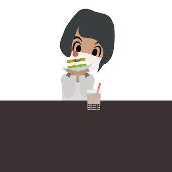 Cake and me