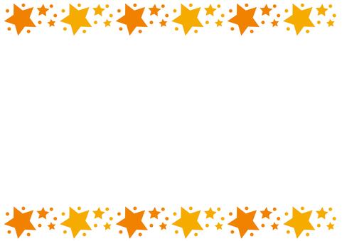Frame - Stars - Orange
