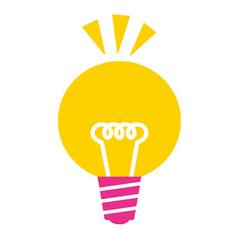 Light bulb pink