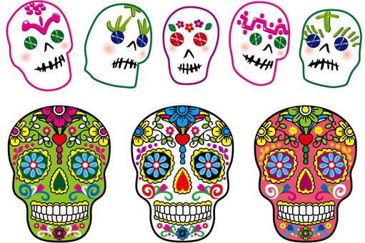 멕시코 해골