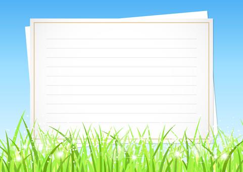 Letter background illustration 1