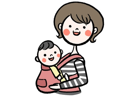 Hug strap mom