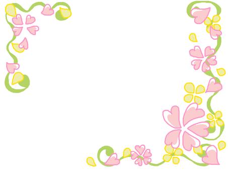 Spring color frame