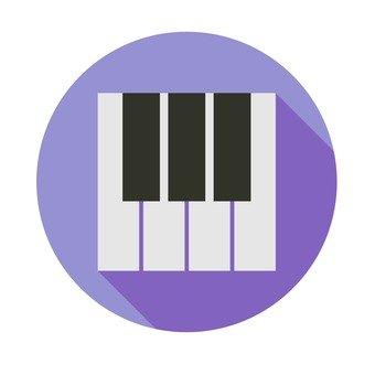 Flat icon - keyboard
