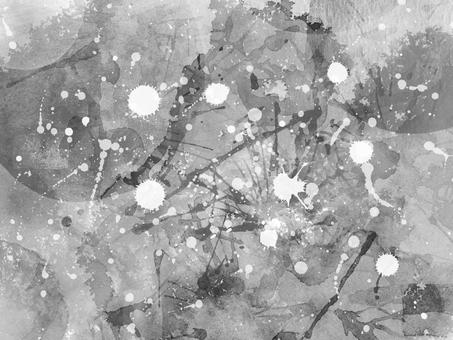 Watercolor Grunge 5 (monochrome)