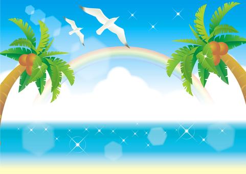 Summer sea frame 4