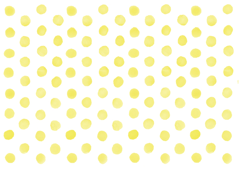 Watercolor picture Dot spot dot background (yellow)