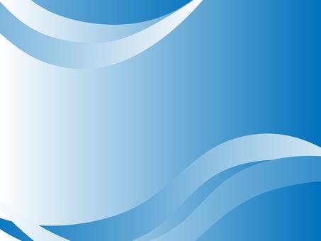 Wave background (blue)