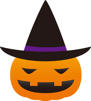 Jack, o'er lantern wearing a hat