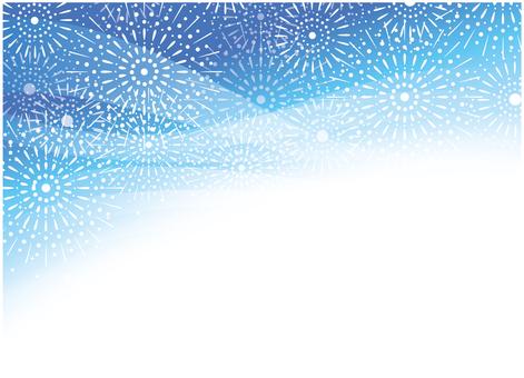 Firework pattern background