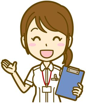 Female (caregiver): A_笑颜03BS