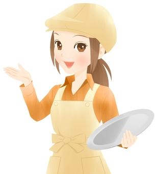 Cafe clerk (information)