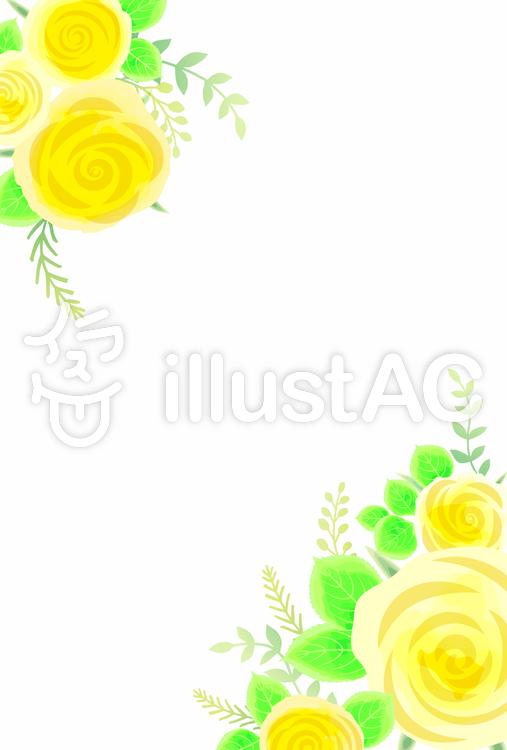 バラ背景002のイラスト