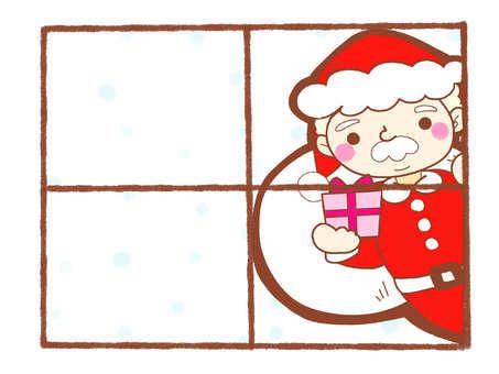 聖誕老人聖誕幀Shashichararo