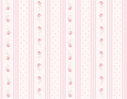 Pink florets wallpaper