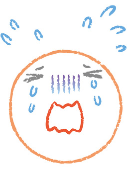 Round face (crying) 1