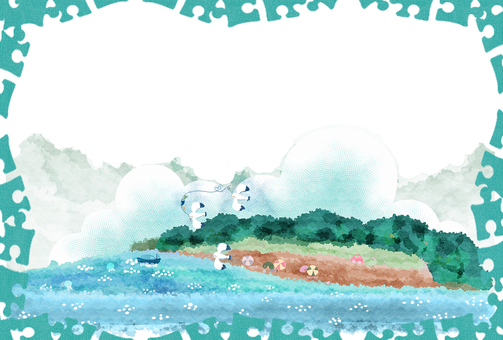 【Kamome and the Sea】