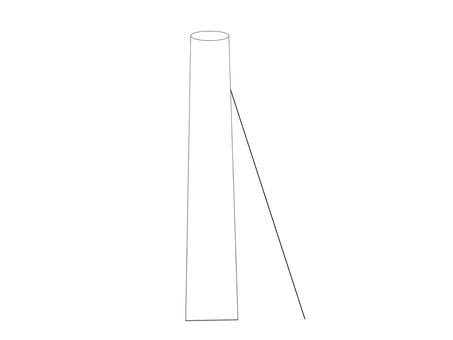 Utility pole (branch pole)