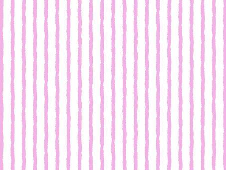 Pink vertical stripe