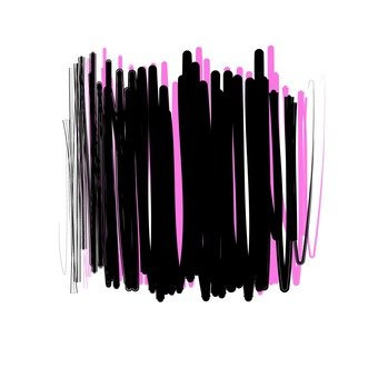 Overlay black and pink