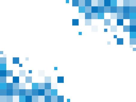 Background_Mosaic tile (blue / white background)