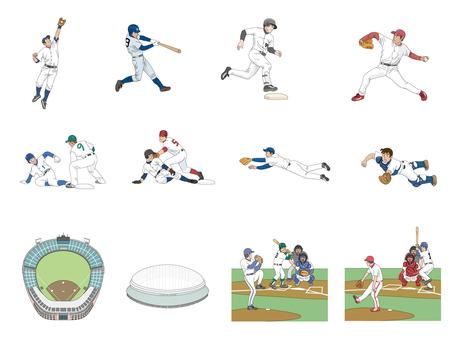 Baseball set 3