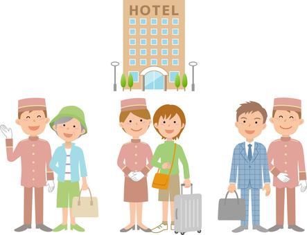 90212.ホテル,セット1
