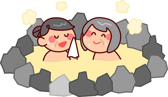 Hot spring trip