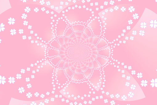 Background material · Floret (pink)
