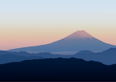 Fuji illustration