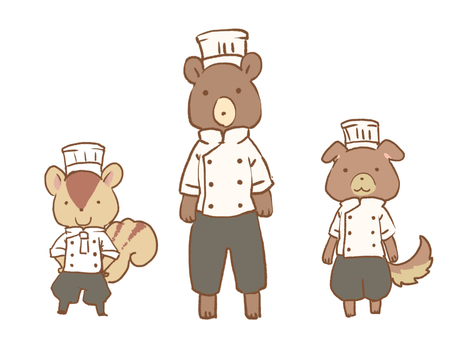 Animal patissier