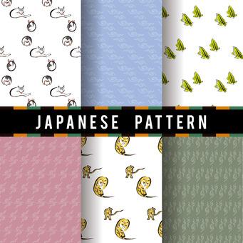 Ukiyo-e pattern 7