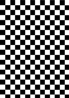 Chess pattern B & W