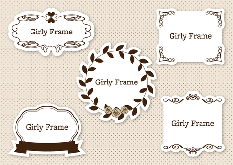 Girly Frame 007